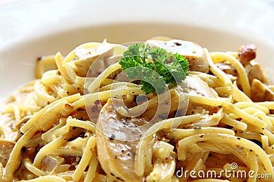 Spaghetti Carbonara Chicken
