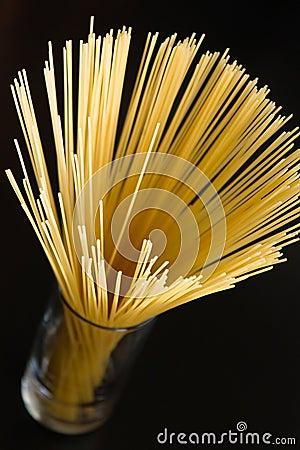 Spaghetti in the glass