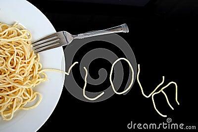 Spaghetti with love