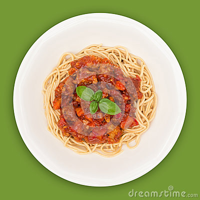 Free Spaghetti Top With Path Royalty Free Stock Image - 26884506