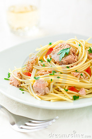 Spaghetti with Tuna