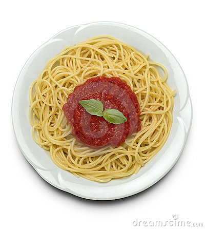 Free Spaghetti With Tomato Sauce Stock Photos - 688313