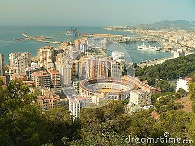 Spain - Andalusia - Malaga - Arena - Port