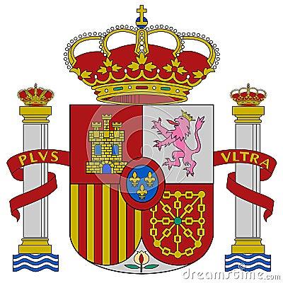 Spain coat of arms
