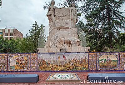 Spain Plaza Mendoza Argentina