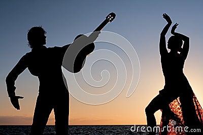 spain Spanish flamenco dancers