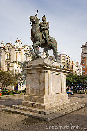 Spain statua