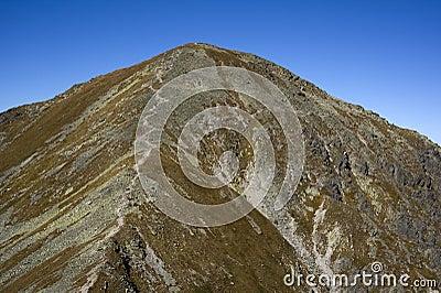 Spalena Peak in Western Tatras