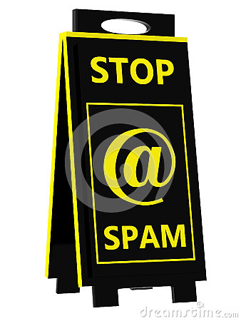 Spam! Hazard undertecknar