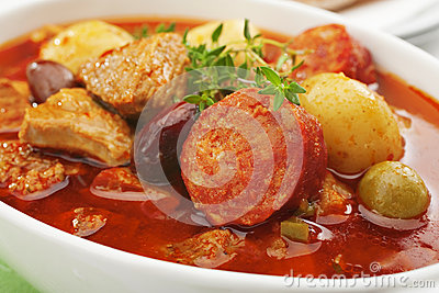 Spamish Pork Stew