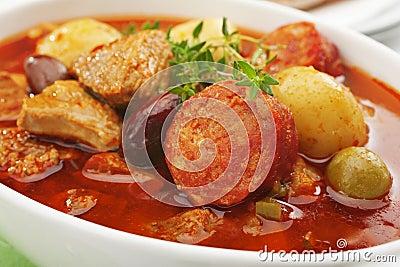 Spamish Pork Stew