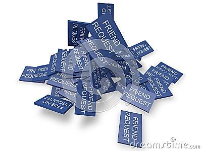 Spamming in social network