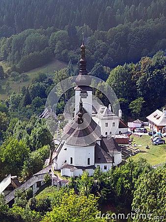 Spania Dolina and Church of the Transfiguration