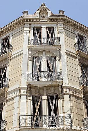 Spanish building detail