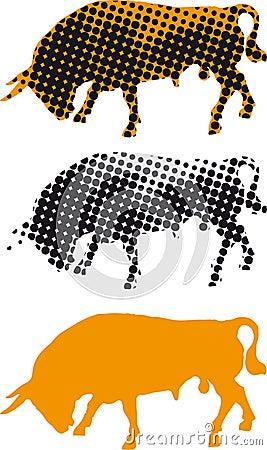Spanish Bull Feria Seville