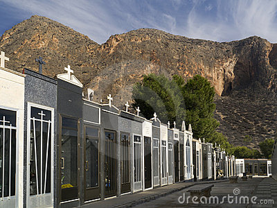 Spanish Cemetery - Costa Blanca - Spain