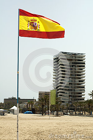 Spanish coastal resort