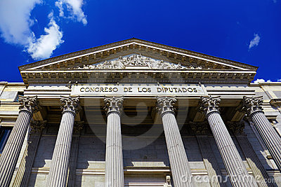 Spanish Congress of Deputies at Madrid