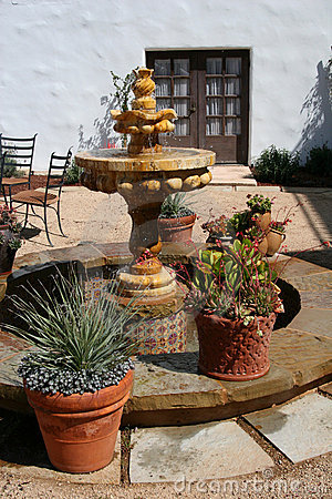 Spanish Courtyard Fountain