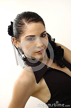 Free Spanish Flamenco Dancer Royalty Free Stock Image - 5306226