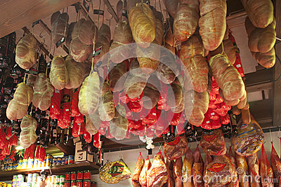Spanish Gammon Editorial Stock Image