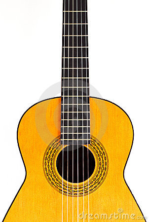 Free Spanish Guitar (center Crop) Royalty Free Stock Images - 13881619