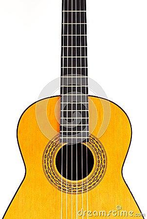 spanish guitar center crop royalty free stock images image 13881619. Black Bedroom Furniture Sets. Home Design Ideas