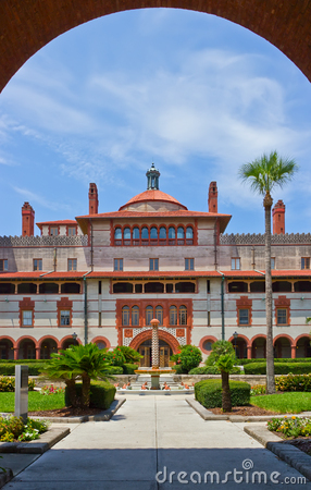 Spanish Historical Building St Augustine Florida