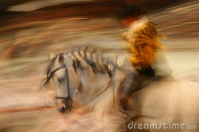 Spanish Horse riding