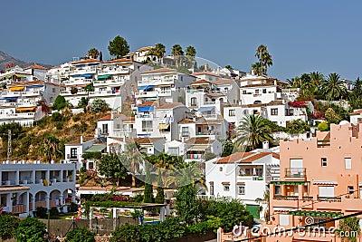 Spanish landscape, Nerja, Costa del Sol