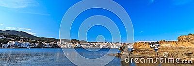 Spanish Mediterranean fishing village