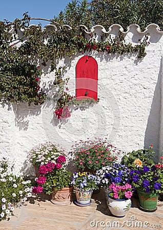 Spanish Mediterranean Garden