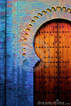 Free Spanish Old Door Stock Image - 2521211