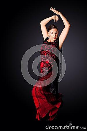 Spanish Paso Doble dancer
