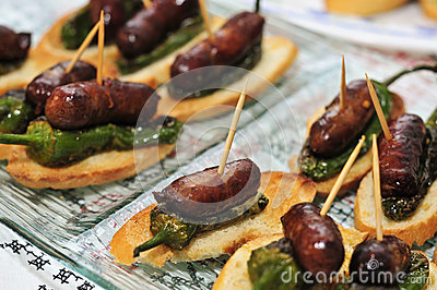 Spanish pinchos