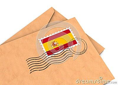Spanish post