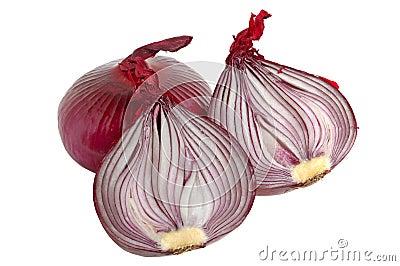 Spanish red onion