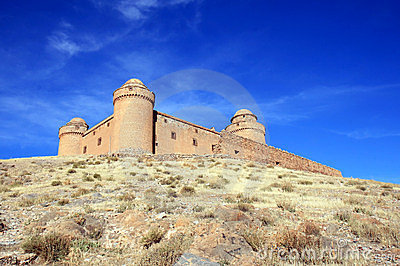 Spanish renaissance haunting Castle of Calahorra