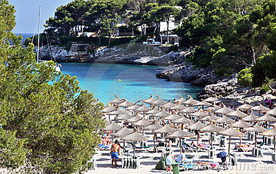 Spanish resort at Cala Dor