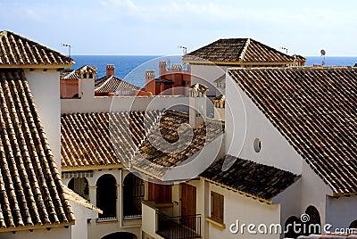 Spanish roofs