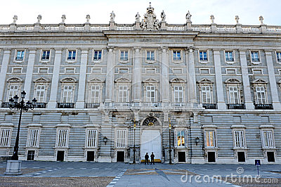 The Spanish Royal Palace