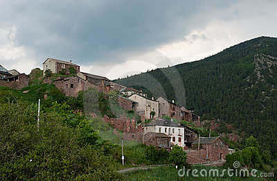 Spanish Rubio village in the Pyrenees