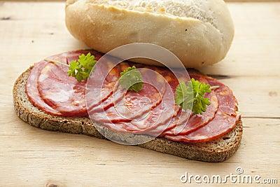Spanish salamis