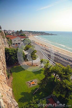 Spanish sea coast