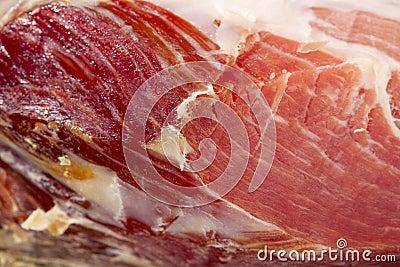 Spanish Serrano Ham Jamon cut