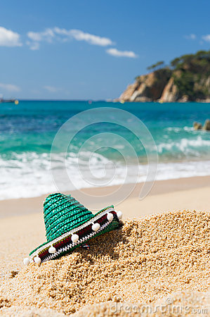 Spanish Sombrero at beach