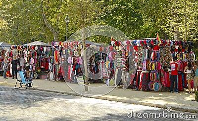 Spanish souvenirs Editorial Image
