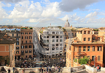 Spanish Steps Editorial Stock Image