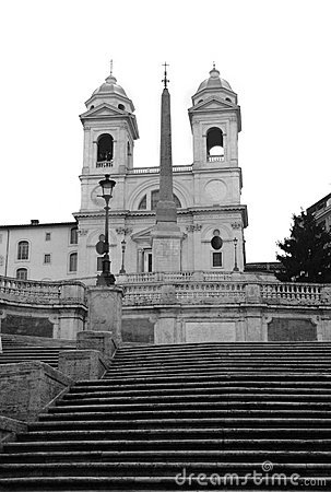 Free Spanish Steps Stock Image - 9695901