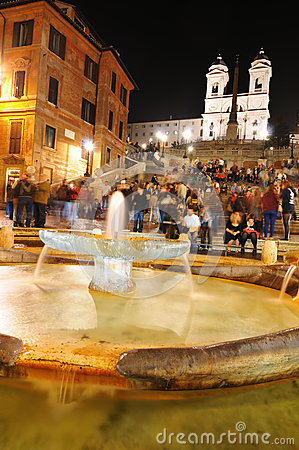 Spanish Steps, Rome Editorial Image